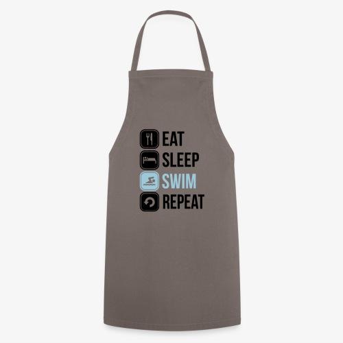 Eat Sleep Swim Repeat - Cooking Apron