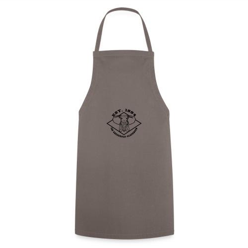 Elefant Logo schwarz - Kochschürze
