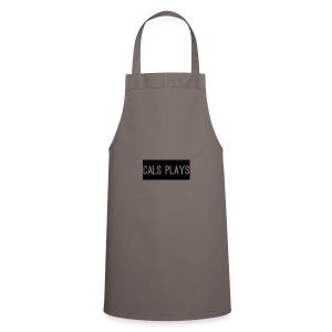 Cals Plays Text - Cooking Apron