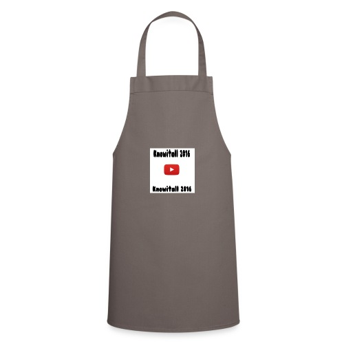 Knowitall 2016 Custom design - Cooking Apron