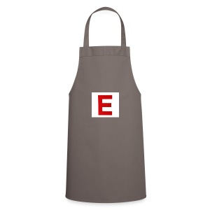 Itz Ethan Red Logo T-Shirt - Cooking Apron