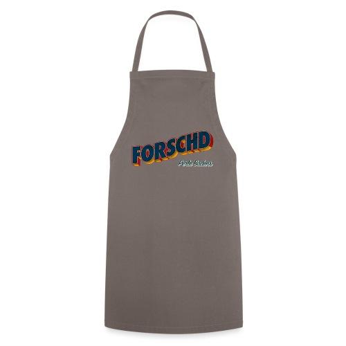 Forschd - Perle Badens - Vintage Logo ohne Bild - Kochschürze