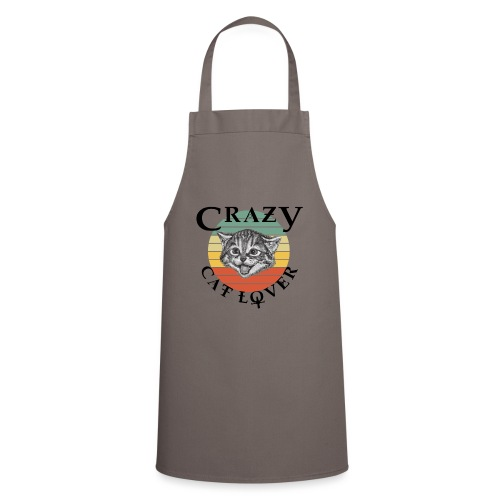 Crazy cat lover - Keukenschort
