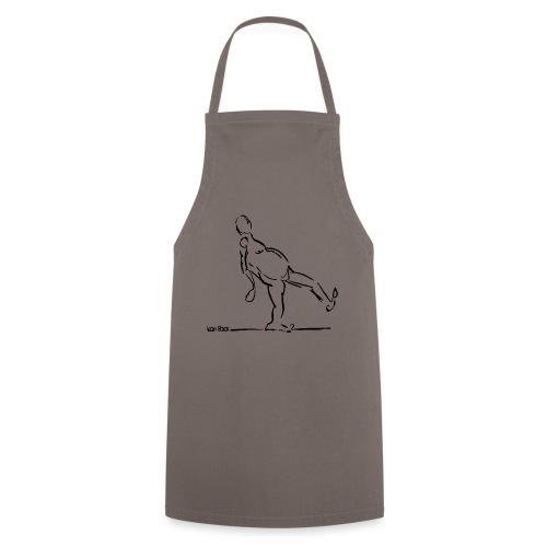 Lean Back Doodle - Cooking Apron