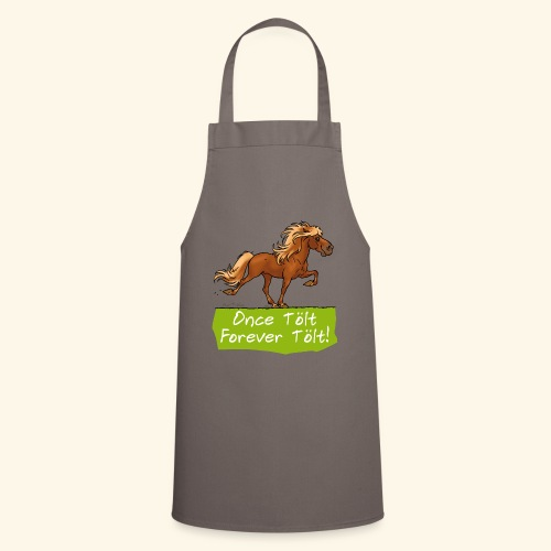 Icelandic horse tölt - Tablier de cuisine