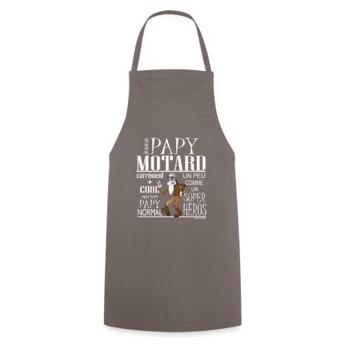 N 182 PAPY MOTARD 2020 - Tablier de cuisine