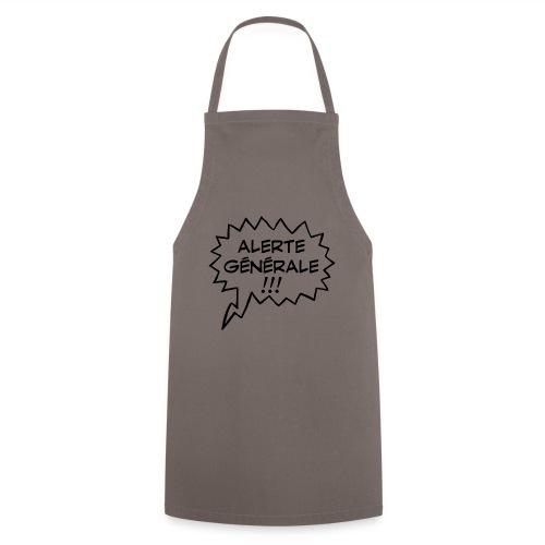 Alerte générale ! - Tablier de cuisine