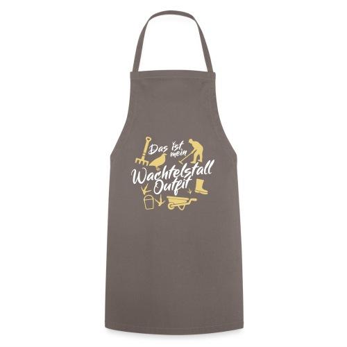 Wachtelstall-Outfit / Wachteln Geschenkidee Design - Kochschürze