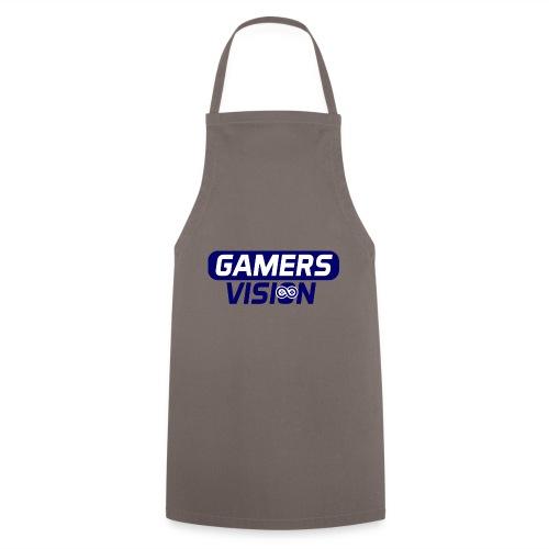 GamersVisiont logo blauw - Keukenschort