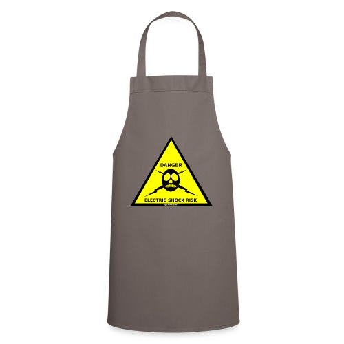DANGER-ELECTRIC-SHOCK-RISK-SIGN - Cooking Apron