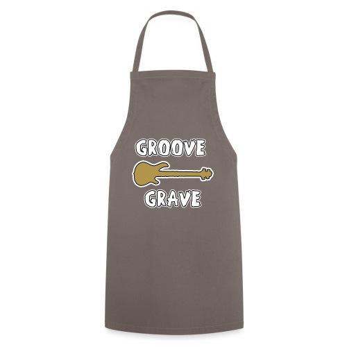 GROOVE GRAVE - JEUX DE MOTS - FRANCOIS VILLE - Tablier de cuisine