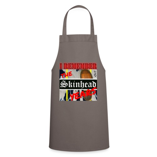 REMEMBER THE SKINHEAD YEARS - Cooking Apron