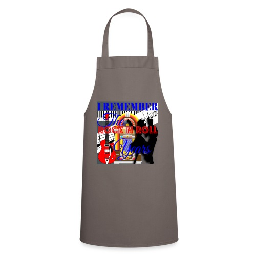 REMEMBER THE ROCK N ROLL YEARS - Cooking Apron