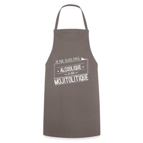 Tee Shirt Femme Violet Col Rond - je suis mojitoli - Tablier de cuisine