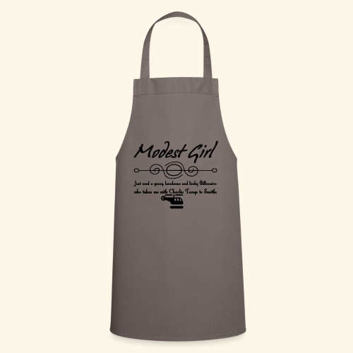 Modest Girl Shirts - Cooking Apron