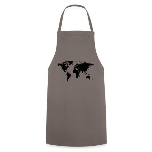 World Map - Kochschürze