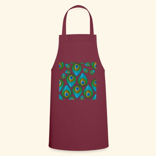 peacock tile png - Cooking Apron