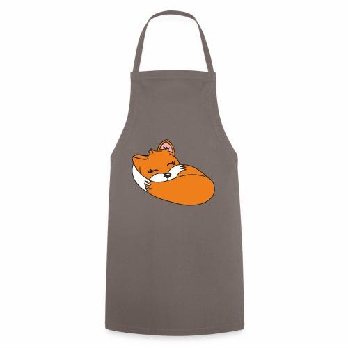 Fuchs schlafend - Kochschürze