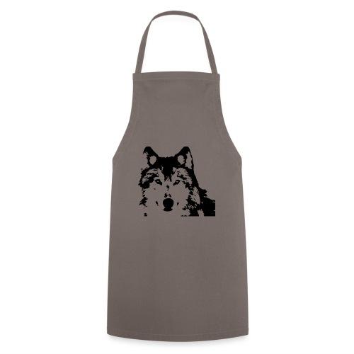 Wolf - Loup - Husky - Kochschürze