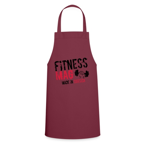 Fitness Mag made in corsica 100% Polyester - Tablier de cuisine