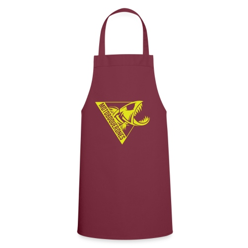 Logo Motoboquerones amarillo - Delantal de cocina