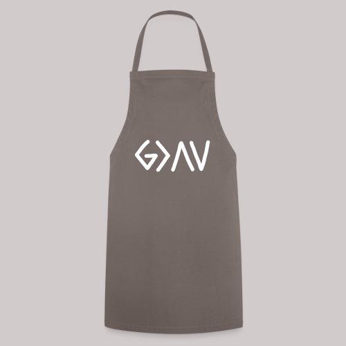 Dios es GRANDE - Delantal de cocina