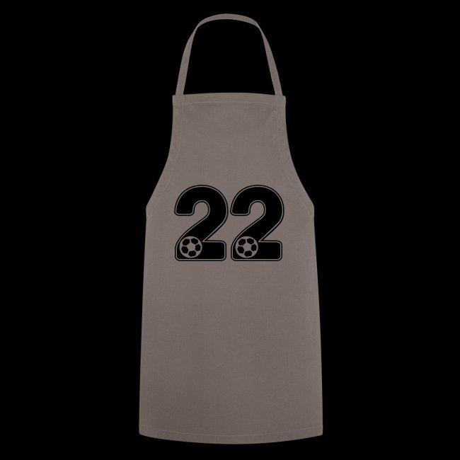 foot numero 22