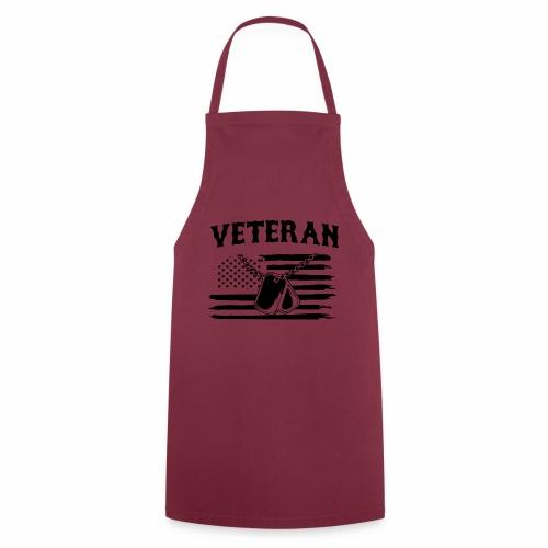 veterano soldado - Delantal de cocina