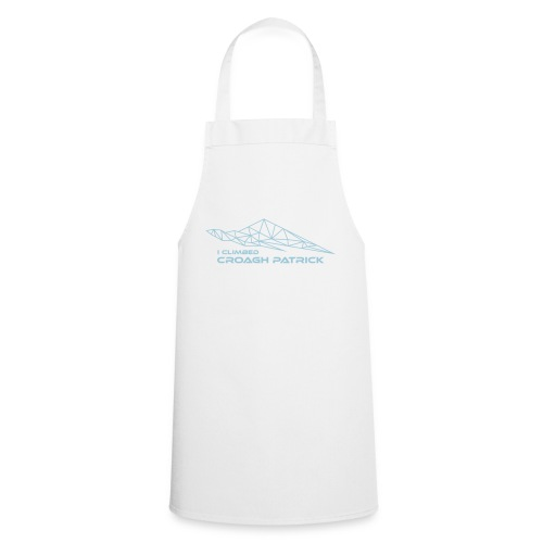 I climbed Croagh Patrick Geometric Design - Cooking Apron