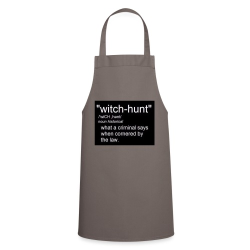 Witch Hunt - women's Tshirt - Cooking Apron