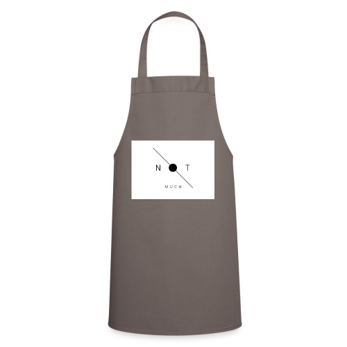 not much WHITE jpg - Cooking Apron