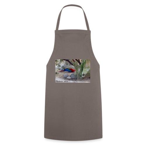 Affiche déco nature et perroquet - Tablier de cuisine