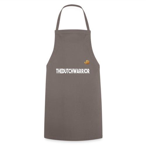 TheDutchWarrior_met_logo - Keukenschort