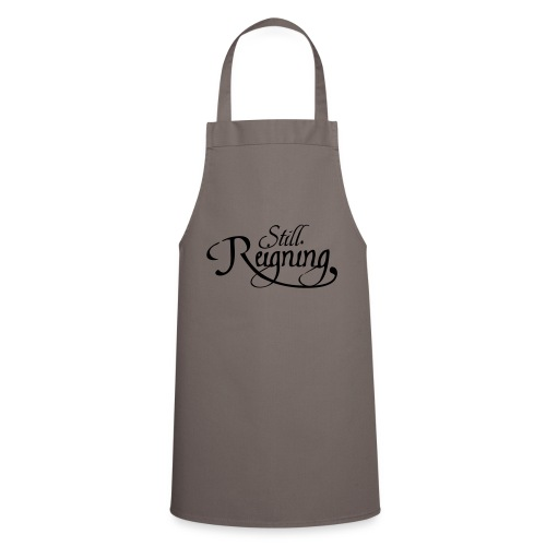 still reigning black - Cooking Apron