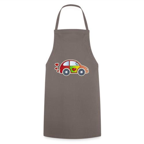 Kids Car Spielzeugauto Herzen bunt fröhlich Kinder - Cooking Apron