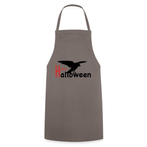 Happy Halloween - Rabe - Kochschürze