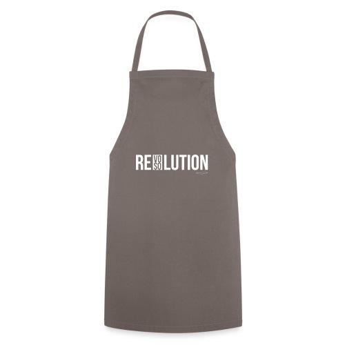 REVOLUTION or RESOLUTION - Grembiule da cucina