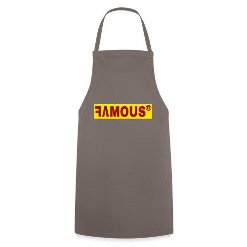 Famous v2 Design - Tablier de cuisine