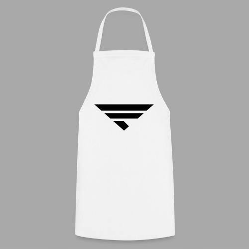 LOGO BLACK - Kochschürze