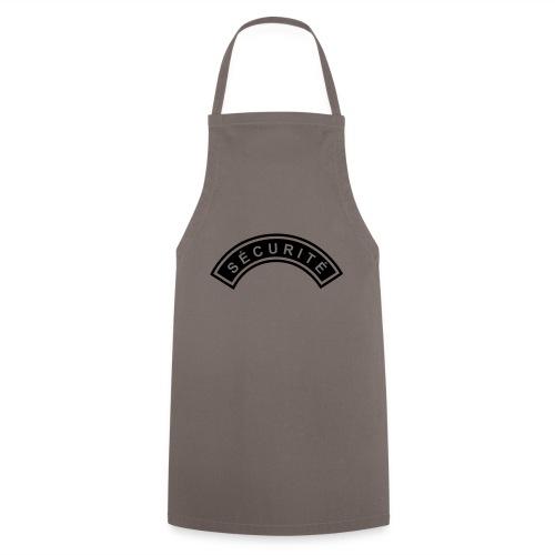 Ecusson Sécurité demilune - Tablier de cuisine