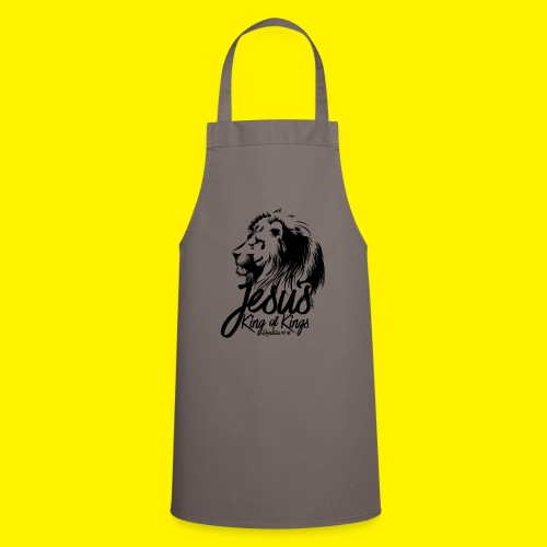 JESUS - KING OF KINGS - Revelations 19:16 - LION - Cooking Apron