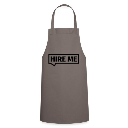 HIRE ME! (callout) - Cooking Apron