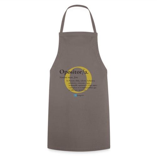 Definición de Opositor/a - Delantal de cocina