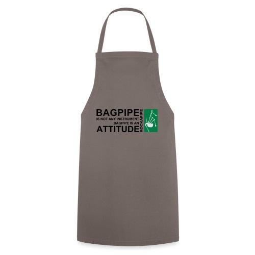 Bagpipe is Attitude.svg - Kochschürze