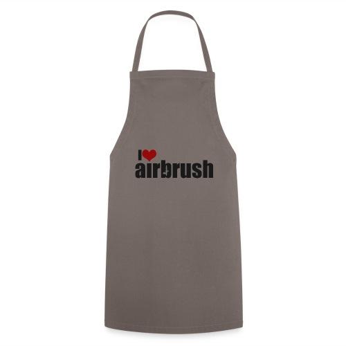 I Love airbrush - Kochschürze