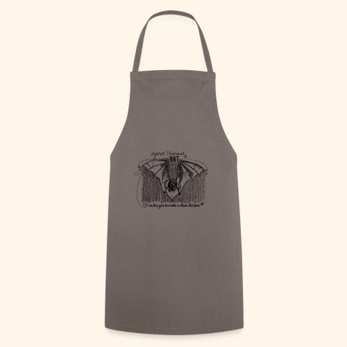 Spirit Animal Fledermaus schwarz - Kochschürze