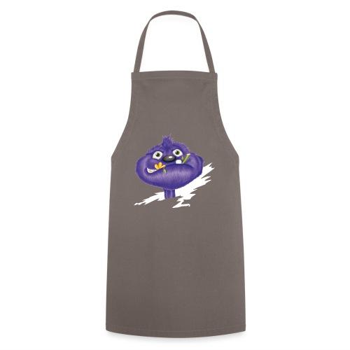 das lila Monster - Kochschürze