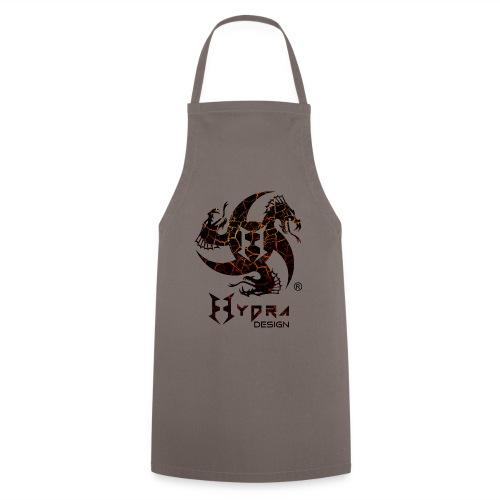 Hydra Design - logo Cracked lava - Grembiule da cucina