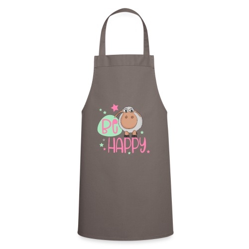 Be happy Schaf - Glückliches Schaf - Glücksschaf - Kochschürze