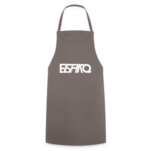 elshaq white - Cooking Apron